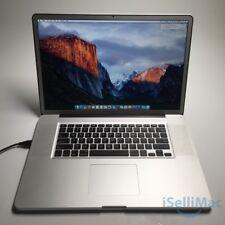 "Apple 2011 MacBook Pro 17"" 2.4GHz I7 750GB 8GB MD311LL/A + B Grade + Warranty!"