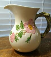 "Vintage Franciscan Desert Rose 48 Once Cream/Syrup Pitcher 6 1/2"" Made in Calif."