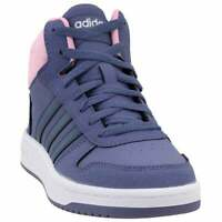 adidas Hoops Mid 2.0 Sneakers Casual   Sneakers Purple Boys - Size 6 M