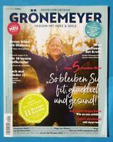Professor Dietrich Grönemeyer Medizin mit Herz+Seele Nr.1 Januar 2020 ungelesen