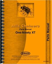 Allis Chalmers 190 Tractor Parts Manual