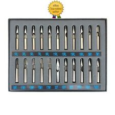 A08 304-Stainless Steel Tattoo Tip Kit 22pcs professional gun machine set nozzle
