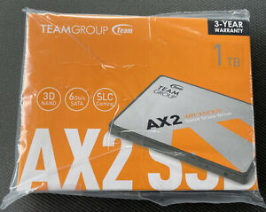TEAMGROUP AX2 1TB Internal Solid State Drive - Brand New FREE SHIPPING