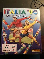 ALBUM FIGURINE CALCIATORI PANINI WORLD CUP ITALIA 90 - OTTIMO !!!