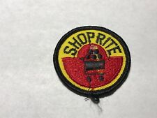 Shoprite Shop Rite Vintage Logo Supermarket Grocery Store Food Chain Patch M
