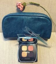 bareMinerals 3-pc set READY 4.0 Shadow THE NEXT BIG THING, Dual-End BRUSH + BAG!
