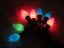 VINTAGE CHRISTMAS LIGHTS--NOMA C-9 LIGHT STRING--7 SOCKETS--LQQK!!
