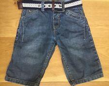 DESIGNER J Jeans ★ Bermuda Shorts / Kurzehose ★ Gr 110-116 (5Y) ★ mit Gürtel