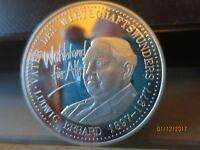 Deutsche Silber Medaille - Ludwig Erhard 1897-1977, Vater des Wirtschaftswunders