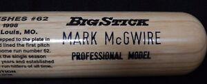Mark McGwire 1998 Rawlings Big Stick Baseball Bat Limited Edition 916/19,998