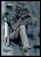 2020 Topps Chrome Base Negative Refractor #68 Blake Snell - Tampa Bay Rays