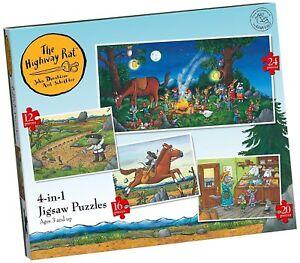Highway Rat 4 in 1 Jigsaw Puzzles Paul Lamond