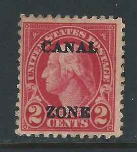 Bigjake: Canal Zone #84: 2 cent Washington with overprint