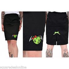 77275 Vixen Zombie Bat Pencil Skirt Pinup Goth Punk Stretch Sourpuss Medium M