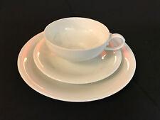 """Augarten Wien """"Orient"""" - 3 tlg. Porzellan Tee Set, weiß"""