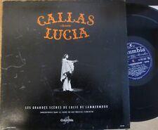 MARIA CALLAS sings Lucia / COLUMBIA FCX 660