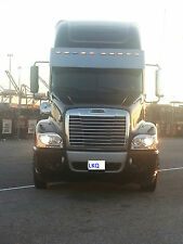 FREIGHTLINER CENTURY HEADLIGHT ASSEMBLIES WITH LED LIGHTS 40552 40553
