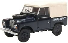 OXFORD DIECAST 43LR3S004 1/43 LAND ROVER SERIES III SWB CANVAS ROYAL NAVY
