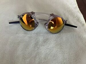 Oakley MADMAN RARE Clear Frame Men's Sunglasses polarized !!!