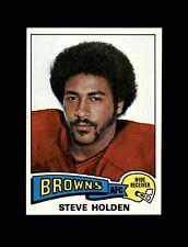 1975 Topps Football #489 Steve Holden RC (Browns) NM+
