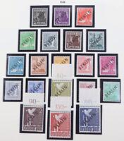 Berlin 1948 bis 1990 postfrische TOP-Sammlung, Block 1 geprüft Schlegel etc.
