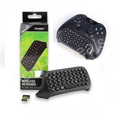 Mini Wireless Chatpad Message Keyboard for Xbox One Controller Black