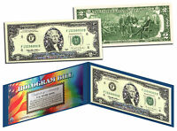 SILVER HOLOGRAM **STARS** Genuine Legal Tender $2 U.S. BILL *MUST SEE - Limited*