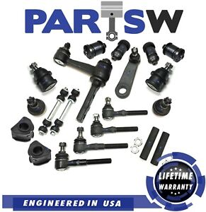 20 Pc Suspension Kit for Ford Lincoln Tie Rods Sway Bar Upper & Lower Ball Joint