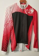 Castelli Fondo Full Zip Men's Bike Wear Cycling Jersey Long Sleeve Shirt Medium