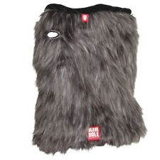 Airhole Airtube Cinch Faux Wolf Fur NEW neck warmer and ski mask snowboarding
