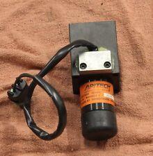 Apitech M880201, 12 volt actuator for hydraulic valves