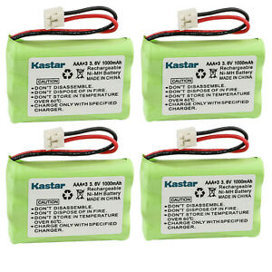 Kastar 4x 1000mAh Phone Battery Pack For VTech ER-P510 89-1323-00-00 Model 27910