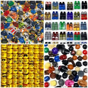 Lego Minifigure Body Parts 20 Pc Lot Build 5 Complete Minifigs Buy 3 Get 1 FREE