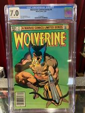 Wolverine #4, CGC 7.0, Key Marvel Comics, 4th Issues of Solo Series NEWSSTAND