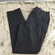 Jil Sander Black Straight Leg Tailor Made Pants Size 38 US 6 Cotton Blend