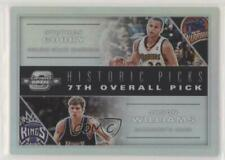 2019-20 Panini Contenders Optic Historic Picks Jason Williams Stephen Curry #7