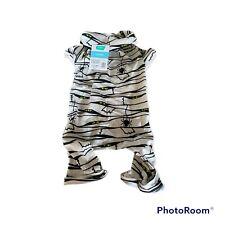 Halloween Mummy PAJAMAS SIZE Large Dog PJ's White Black