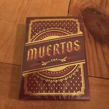 Muertos - Day of the Dead Love Deck Playing Cards Deck New Sealed