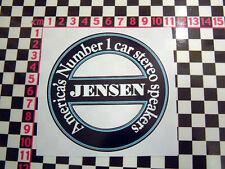 Fun Sticker for a Jensen- CV8 541 Interceptor Healey GT