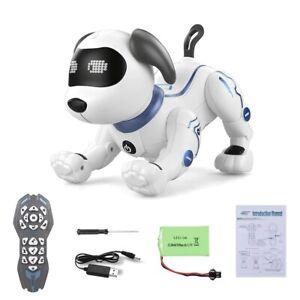 LANDZO K16A Electronic Pets RC Animal Programable Robot Dog Voice Remote Control