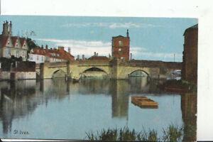 Huntingdonshire Postcard - St Ives - Ref 15310A