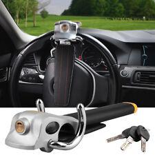 Vehicle Car Steering Wheel Security Lock Anti Theft With 3 Keys Universal