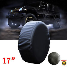 Jeep Wrangler Spare Tire Wheel Soft Cover Leather Case Protector 31 32 33""