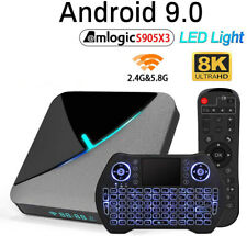 Android 9.0 TV Box A95X F3 Air TV Box Amlogic S905X3 2.4GHz/5GHz HD 8K BT 4.2