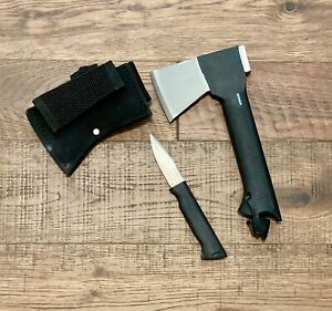 Gerber Axe with Knife combo includes sheath bushcraft survival camping overland