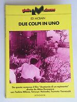 Due colpi in uno - Ed McBain - Mondadori - 3504