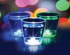 3 Leuchtende LED Schnapsgläser ( leuchtendes Schnapsglas, Pinchen) 3 Farben