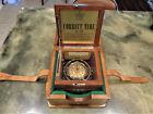 Vintage 1942 Hamilton Model 22 Chronometer US Navy Ship Clock 21 Jwl 6 Position