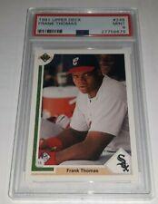Frank Thomas 1991 Upper Deck #246 Rookie Card RC Graded PSA 9 Mint HOF White Sox