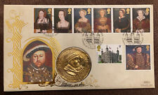 More details for benham coin cover 1997 henry viii and his 6 wives ref060